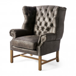 Franklin Park Wing Chair pellini dark grey / Rivièra Maison