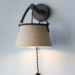 Harbor Buckle Wall Lamp / Rivièra Maison