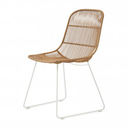 Hartford Outdoor Dining Chair Natural/Stonewhite / Rivièra Maison