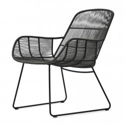 Hartford Outdoor Lounge Chair Espresso/Lava / Rivièra Maison