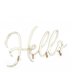 Hello Coatrack soft gold / Rivièra Maison