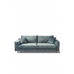 Kendall Sofa 3,5 Seater velvet mineral blue / Rivièra Maison