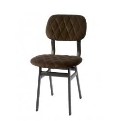 La Brera Dining Chair Velvet Umber / Rivièra Maison