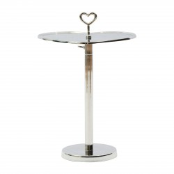 Lovely Heart Adjustable End Table / Rivièra Maison