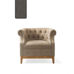 Medford Armchair washed cotton graphite / Rivièra Maison