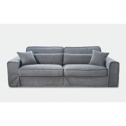 Metropolis Sofa 2,5 Seater Washed Cotton Ice Blue / Rivièra Maison
