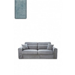 Metropolis Sofa 2,5 seater, velvet, light blue / Rivièra Maison