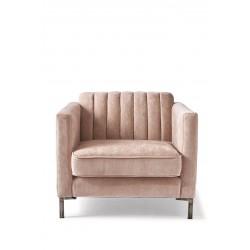 Miami Armchair, velvet, pink / Rivièra Maison