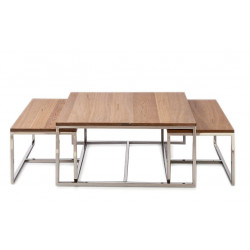 Monaco Coffee Table 90x90 cm set of 3 / Rivièra Maison