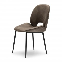 Mr. Beekman Dining Chair pellini coffee / Rivièra Maison
