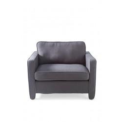 Newton Love Seat Linen Anthracite / Rivièra Maison