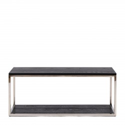 Nomad Coffee Table Black 100x40 / Rivièra Maison