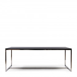 Nomad Dining Table Black 220x90 / Rivièra Maison