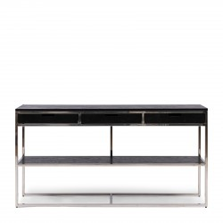 Nomad Side Table Black / Rivièra Maison