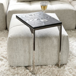 Nomad Sofa Table Black / Rivièra Maison