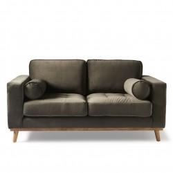 Notting Hill Sofa 2 Seater velvet slate grey / Rivièra Maison