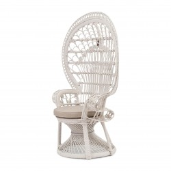 Peacock Chair White / Rivièra Maison