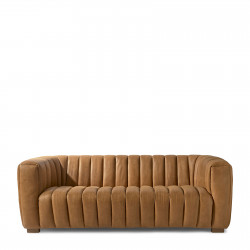 Pulitzer Sofa 3,5 Seater leather cognac / Rivièra Maison