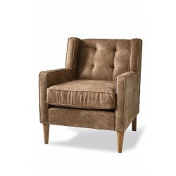 Repulse Bay Armchair pellini coffee / Rivièra Maison
