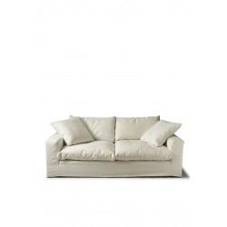 Residenza Sofa 3,5 Seater oxford weave alaskan white / Rivièra Maison