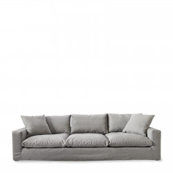 Residenza Sofa XL oxford weave steel grey / Rivièra Maison