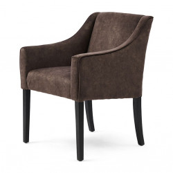 Savile Row Arm Dining Chair berskhire cacao / Rivièra Maison