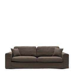Selana Sofa 3,5 Seater linen taupe / Rivièra Maison