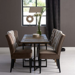 Shelter Island Folding Dining Table / Rivièra Maison