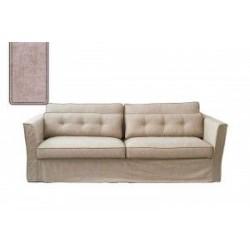 South Wimbledon Sofa 3,5 Seater, velvet, blossom / Rivièra Maison