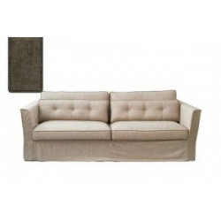 South Wimbledon Sofa 3,5 Seater, velvet, clay / Rivièra Maison