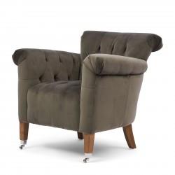 St Regis Armchair velvet slate grey / Rivièra Maison