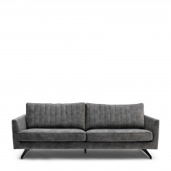 The Camille Sofa 3 Seater velvet frosty green / Rivièra Maison