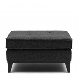 The Jake Footstool melane weave carbon / Rivièra Maison