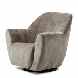 The Jill Swivel Chair velvet olive / Rivièra Maison