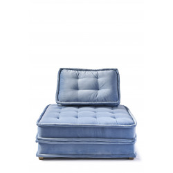 The Uptown Sofa velvet ice blue / Rivièra Maison
