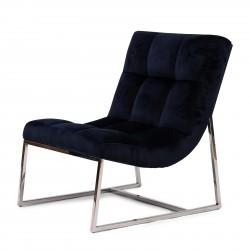 Thompson Place Chair velvet III indigo / Rivièra Maison