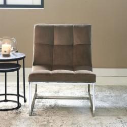 Thompson Place Chair, velvet III, golden mink / Rivièra Maison