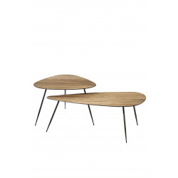 Twiggy Coffee Table Set van 2 / Rivièra Maison