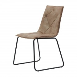Venice Park Stackable Chair pellini coffee / Rivièra Maison