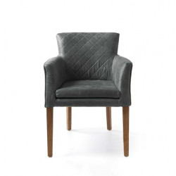Waverly Dining Armchair Pellini Anthracite / Rivièra Maison