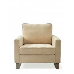 West Houston Armchair polyester-polyacryl pearl / Rivièra Maison