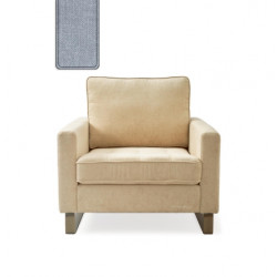 West Houston Armchair washed cotton ice blue / Rivièra Maison