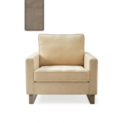 West Houston Armchair washed cotton natural / Rivièra Maison