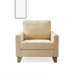 West Houston Armchair washed cotton white / Rivièra Maison