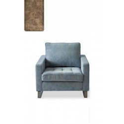 West Houston Armchair, velvet, clay / Rivièra Maison