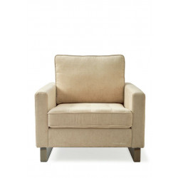West Houston Armchair, velvet, light blue / Rivièra Maison