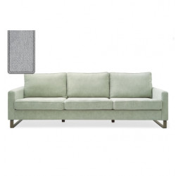 West Houston Sofa 2,5 seater polyester-polyacryl platinum / Rivièra Maison