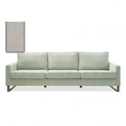 West Houston Sofa 2,5 seater washed cotton ash grey / Rivièra Maison
