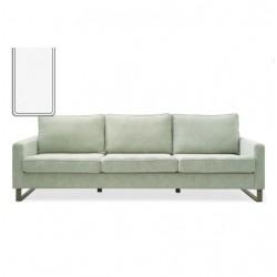 West Houston Sofa 2,5 seater washed cotton white / Rivièra Maison
