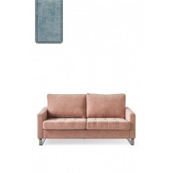 West Houston Sofa 2,5 seater, polyester-polyacryl, light blue / Rivièra Maison